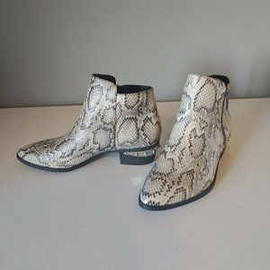 """Sam Edleman Faux Snake Bootie """"NEW"""""""